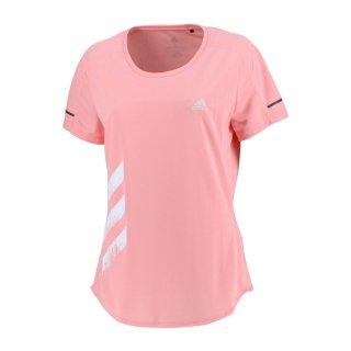 adidas(アディダス) KCM94 レディース RUN IT 3S Tシャツ ランニング フィットネス