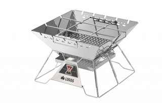 LOGOS(ロゴス) 81064162 LOGOS the ピラミッドTAKIBI L たき火 BBQ 串焼き