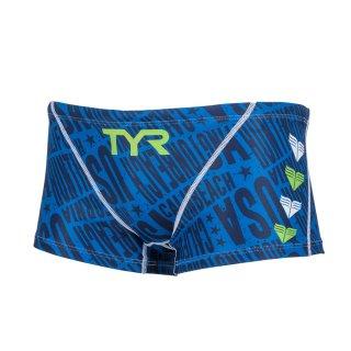 TYR(ティア) BCHEVJR-18M ジュニア ボーイズ 競泳トレーニング水着 子供用 練習用
