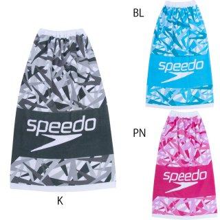 SPEEDO(スピード) SE62005 スタック ラップタオル M 高さ100cm 巻きタオル
