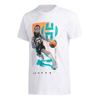 adidas(アディダス) GUS81 バスケットボール Tシャツ Harden Drive Geek Up Tee ハーデン