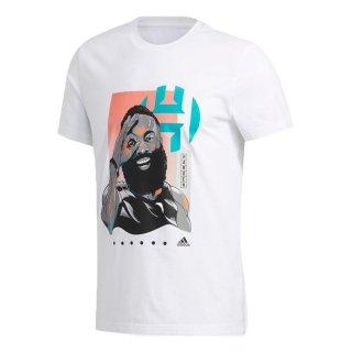 adidas(アディダス) GUS84 バスケットボール Tシャツ Harden 3 Geek Up Tee ハーデン メンズ