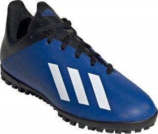 adidas(アディダス) FV4662 エックス 19.4 TF J ベルクロ ジュニア トレーニングシューズ 子供用