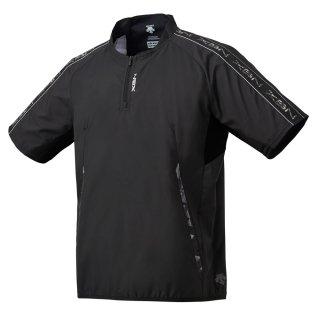 DESCENTE(デサント) DBMPJK31 半袖ウインドジャック メンズ 半袖ピステ 野球ウェア ベースボール