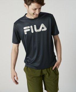 FILA(フィラ) 420249 メンズ 半袖 UV Tシャツ 水陸両用 ラッシュガード アウトドア