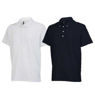 ONYONE(オンヨネ) OKJ99075 ボタンダウンシャツ 二分袖 吸汗速乾 ドライポロ ポロシャツ