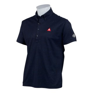 lecoq sportif(ルコック) QGMPJA10 メンズ 8BitカモフラージュPT半袖シャツ ゴルフウェア