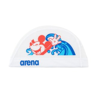 ARENA(アリーナ) DIS-0358 ディズニー メッシュキャップ 水泳 スイムキャップ 練習用 トレーニング ミッキー