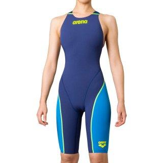 ARENA(アリーナ) FAR-0510W レディース ハーフスパッツオープンバック クロスバック 競泳水着 FINA承認