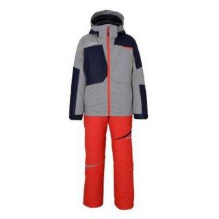 PHENIX(フェニックス) PS9G22P83 ジュニア スキーウェア ツーピース 子供 ボーイズ グレー マッシュ5