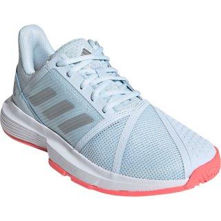 adidas(アディダス) FU8146 レディース テニスシューズ コートジャム バウンス W