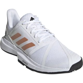 adidas(アディダス) FU8147 レディース テニスシューズ コートジャム バウンス W