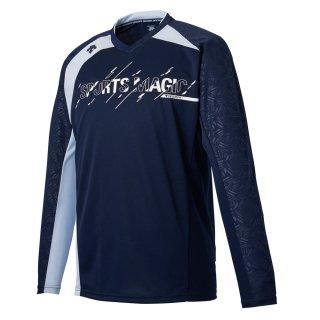 DESCENTE(デサント) DVUQJB50 ユニセックス バレーボール 長袖プラクティス シャツ トレーニングウェア