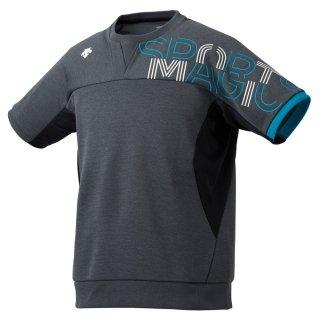 DESCENTE(デサント) DVUQJC20 ユニセックス バレーボール 半袖スウェット シャツ トレーニングウェア