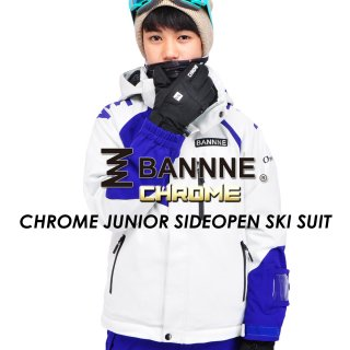 BANNNE(バンネ) BNS73000 CHROME JUNIOR SIDEOPEN SKI SUIT ジュニア スキースーツ