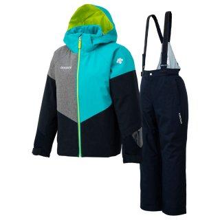 DESCENTE(デサント) DWJOJH02 ジュニア スキーウェア 上下セット JUNIOR SUIT スノースーツ セットアップ