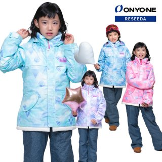 ONYONE RESEEDA(オンヨネ レセーダ) RES63002D ジュニア ガールズ スキーウェア 上下セット JUNIOR SUIT セットアップ 子供用