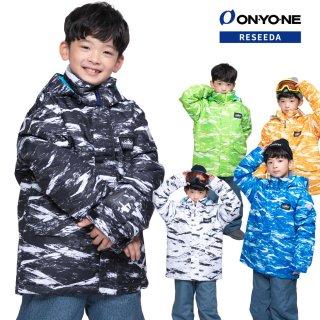 ONYONE RESEEDA(オンヨネ レセーダ) RES73003D ジュニア ボーイズ スキーウェア 上下セット JUNIOR SUIT セットアップ 子供用