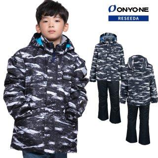 ONYONE RESEEDA(オンヨネ レセーダ) RES73003NT ジュニア ボーイズ スキーウェア 上下セット JUNIOR SUIT セットアップ 子供用