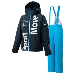 DESCENTE(デサント) DWJQJH92 JUNIOR SUIT ジュニア スキーウェア 上下セット ムーブスポーツ