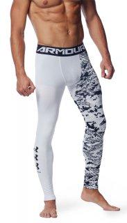 UNDER ARMOUR(アンダーアーマー) 1358835 メンズ UAヒートギアアーマー レギンス ノベルティ スポーツインナー タイツ