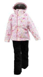 nima(ニーマ) JR-8009 ジュニア スキースーツ 上下セット 子供用 雪遊び 防寒具 通学