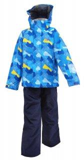 nima(ニーマ) JR-8015 ジュニア スキースーツ 上下セット 子供用 雪遊び 防寒具 通学