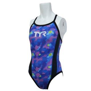 TYR(ティア) DTIED-20M レディース 競泳トレーニング水着 練習用  レギュラーカット ダイアモンドバック