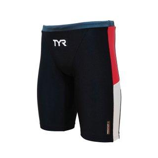 TYR(ティア) JCOLR-20M メンズ ロングボクサー 競泳トレーニング水着 練習用