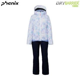 PHENIX(フェニックス) PSAH22P90 SNOWCRYSTALGIRLS2P ジュニア ガールズ スキースーツ スノークリスタル