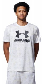 UNDER ARMOUR(アンダーアーマー) 1364720 メンズ UAテック フルプリント Tシャツ バスケットボール プラクティスウェア
