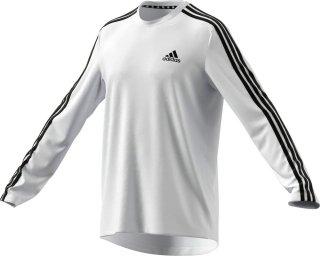 adidas(アディダス) 42181 メンズ M D2M 3ストライプス ロングTシャツ 長袖 トレーニングウェア