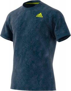 adidas(アディダス) AV209 メンズ テニス フリーリフト プリント PRIMEBLUE 半袖Tシャツ