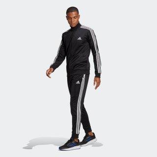 adidas(アディダス) 28898 メンズ エッセンシャルズ 3ストライプス トラックスーツ ジャージ 上下 セットアップ