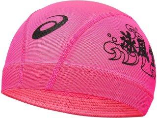 ASICS(アシックス) 3163A220 1色プリントメッシュキャップ 水泳 スイムキャップ 帽子