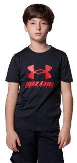 UNDER ARMOUR(アンダーアーマー) 1364723 ジュニア ボーイズ UAユース テック ビックロゴ Tシャツ バスケットウェア