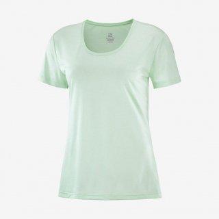 SALOMON(サロモン) LC1483300 AGILE アジャイル 半袖Tシャツ ウィメンズ ハイキング ロードランニング
