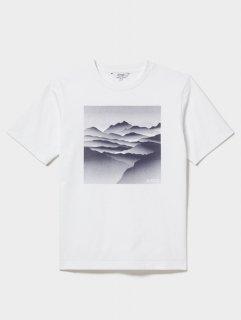 AIGLE(エーグル) ZTH074J 吸水速乾 ランドスケープ グラフィック Tシャツ