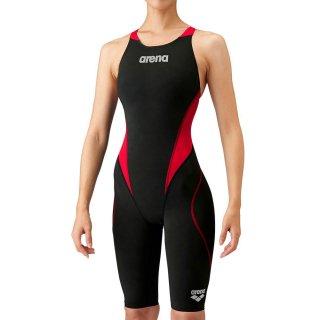 ARENA(アリーナ) ARN-1010W アクアフォースフュージョントライ ハーフスパッツオープンバック レディース 競泳水着