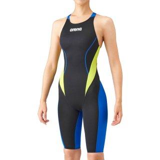 ARENA(アリーナ) ARN-1024W アクアアドバンスト ハーフスパッツオープンバック レディース 競泳水着 FINA承認