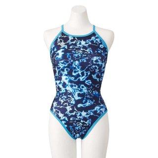 MIZUNO(ミズノ) N2MA1766 EXERSUITS ミディア ミディアムカット レディース 水着 競泳練習用水着 スイム