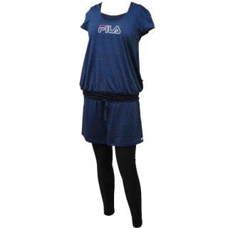 FILA(フィラ) 310021 レディース Tシャツ 5点セット 水着 水陸両用 フィットネスウェア