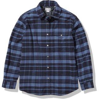THE NORTH FACE(ザ・ノースフェイス) NRW62031 L/S Stretch Flannel Shirt レディース アウトドア 長袖シャツ