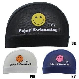 TYR(ティア) LCMM-28 PRINT MESH SWIM CAP スイム メッシュキャップ 水泳 練習 トレーニング