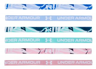 UNDER ARMOUR(アンダーアーマー) 1286897 UA MINI HEADBAND GRAPHIC (6P)  レディース ヘッドバンド