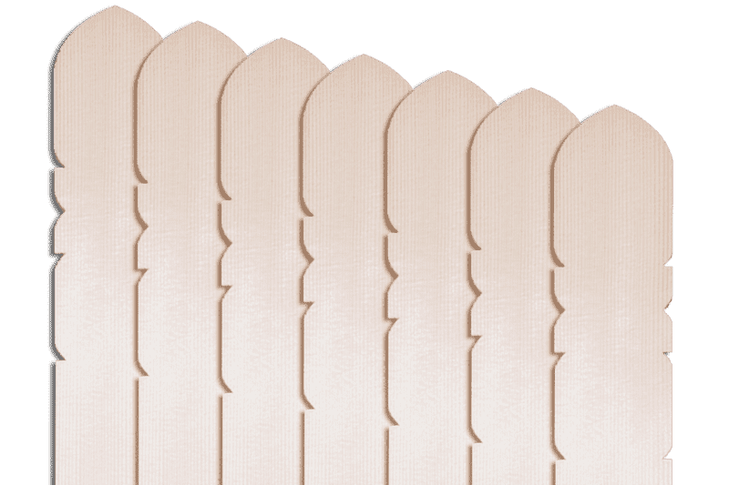 卒塔婆2尺×2寸4分×7mm等級A(50本入)