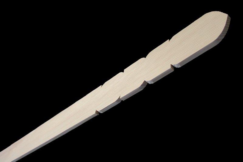 卒塔婆5尺×2寸5分×9mm等級C(50本入)