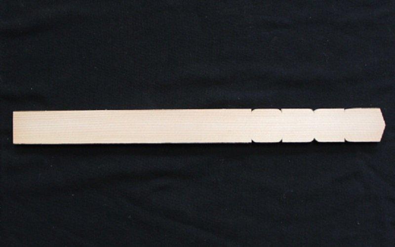 卒塔婆1尺2寸×1寸×7mm等級A(100本入)