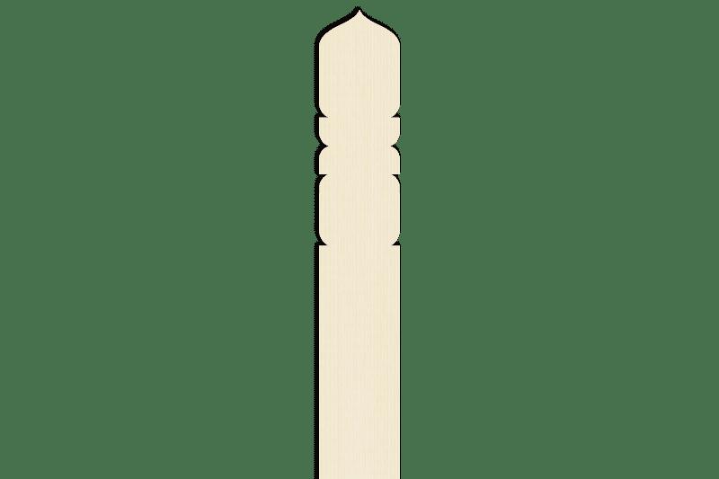 卒塔婆1尺5寸×2寸×7mm等級B(1本入)