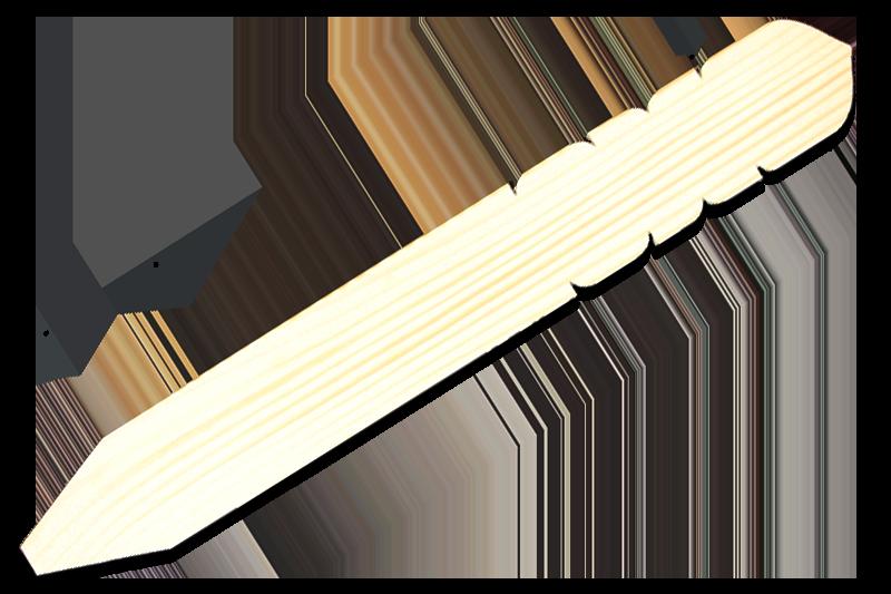 卒塔婆1尺5寸×2寸×10mm等級ABC込(100本入)